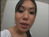 Aveena Lee's creamy tight pussy