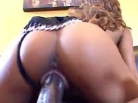 BBC orgy with threesome naughty black babes